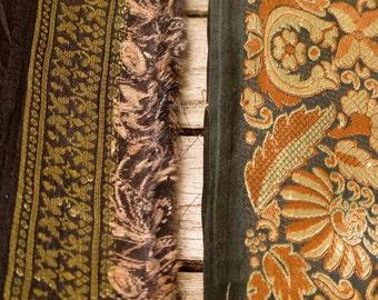 Silk Ribbon, Sari border, Sari Trim 2 colors