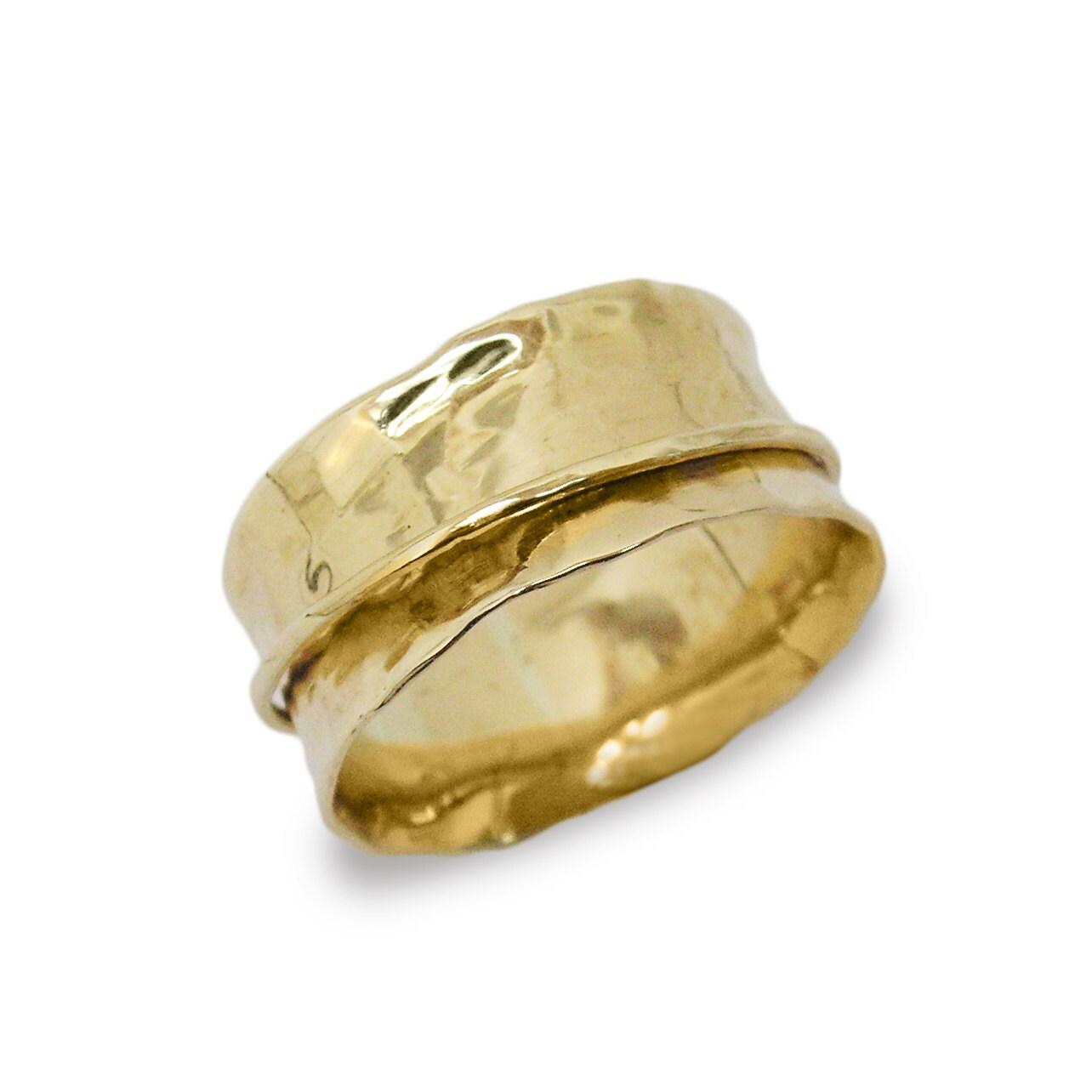 spinner wedding ring spinner ring gold spinner ring 14k