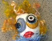 Anxiety Ridden Alice in Wonderland zombie doll
