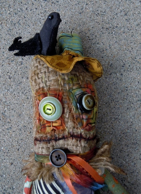 Scarecrow monster doll
