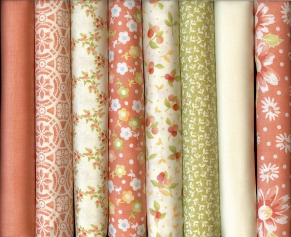 California Girls Fat Quarters by Joanna Figuera of Fig Tree Quilts For Moda 8 Fat Quarter Fabric