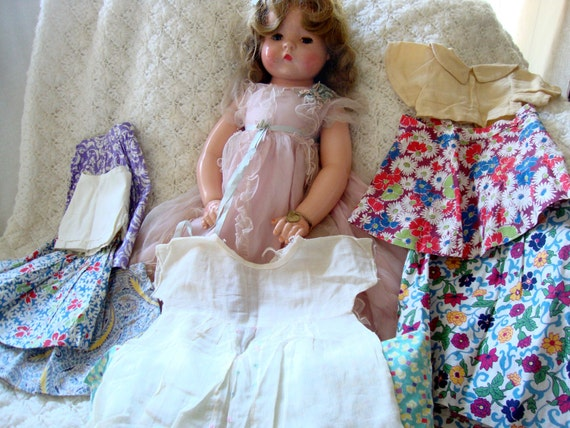 Rarest Effanbee 1930s Patsy Ruth All Composition Doll With Original Clothes
