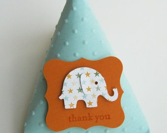 elephant baby shower favors birthday party favors set of 12