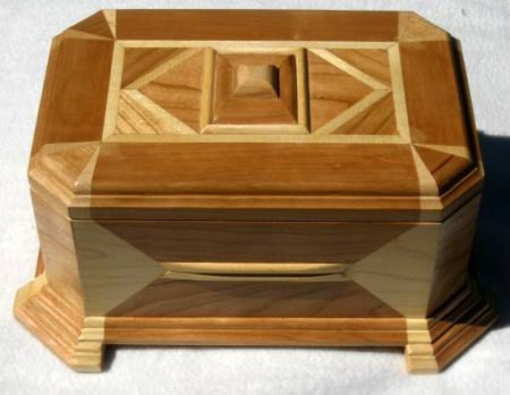 Handmade Cherry Wood Music Box