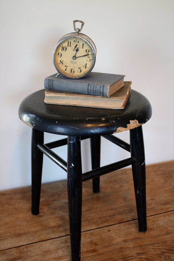 Little Black Stool