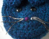 Crocheted Cat Slippers