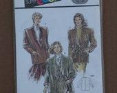 Burda Super Easy Sewing Pattern, 5002, Jacket, Uncut Size 12-26 1990s
