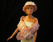 Spring Doll Wrap and Hat - ready to ship