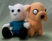 Adventure Time - Finn and Jake Plush Set