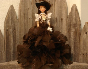 Barbie Doll/Cowgirl Barbie Doll/Glamour Doll/Feather Doll/