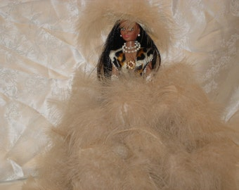 Doll, Barbie Doll, Large Doll, Small Doll, Glamour Doll, Feather Doll