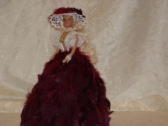 Glamour Doll/ Feather Doll/ Barbie Doll/ Vintage Doll/ Dolls