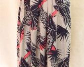 Vintage Palm Skirt