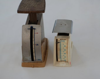 Vintage Scales, Dietetic Scales, Man Gift For Your Guy, Gift For Chronic Diet Person, Small Scale For Sale
