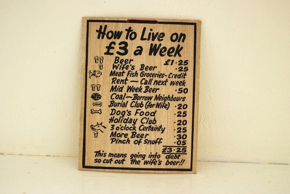 Vintage European Sign. Vintage Paper, Pounds, Vintage European Travel Sign, Vintage Cardboard Sign