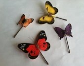 Butterly Bobby Pins   Free Shipping