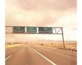 California Road Trip, an 8x8 photograph