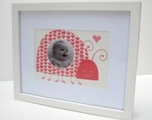 "5""X 7"" Lovey Ladybug Print with 2.5"" Circle Photo Window"