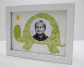 "5""X 7"" Box Turtle Print with 2.5"" Circle Photo Window"