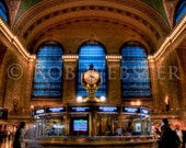 Grand Central Station num. 3, 8x10 HDR Fine Art Photo Print