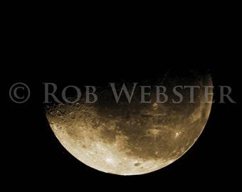 The Moon, num. 3, 8x10 Fine Art Photo