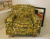 Kitchy Mid-Century Modern Vinyl Chair