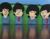Beatles Finger Puppet Set