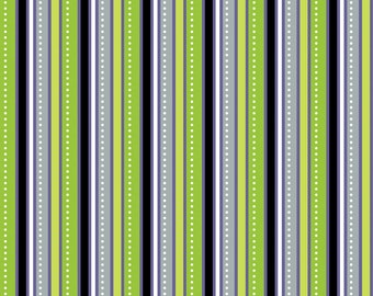 Costume Clubhouse Stripe in Purple by Riley Blake - C2876 - 1/2 Yard
