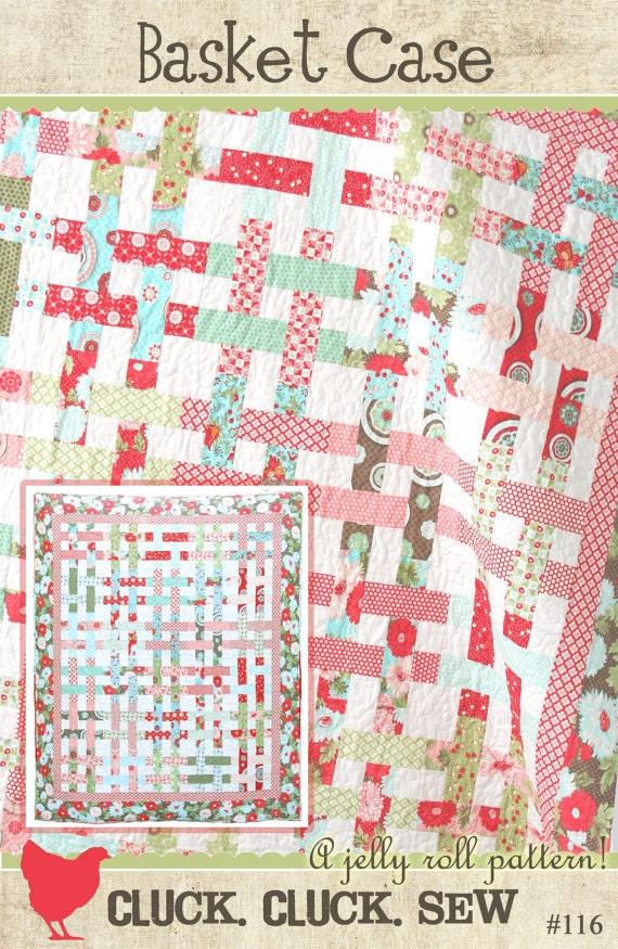 Easy Basket Weave Quilt Pattern : Cluck sew basket case quilt pattern by pinkdoorfabrics