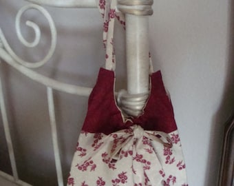 Boudoir Bag ( retro style, personal items), for bedside or beach.