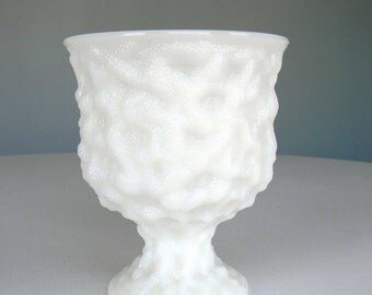 Vintage Milk Glass Dish White Candy Bowl E.O. Brody Co