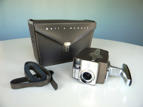 Bell and Howell Camera Super 8 Video Movie With Case