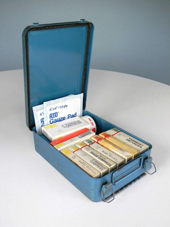 Vintage First Aid Kit Mines Service