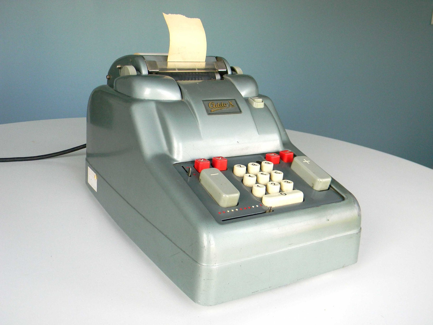 Items similar to Vintage Addo-X Adding Machine Industrial ...
