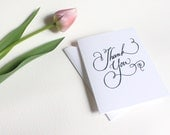 Thank You Greeting Card READY TO SHIP