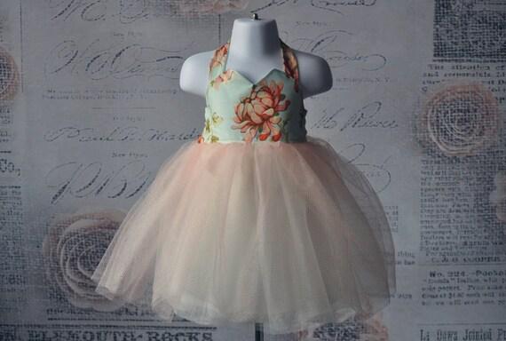 Vintage Inspired Sweetheart tulle Dress in mums, girls dress, toddler dress, dress-Girls sizes 2- 7