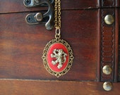 Harry Potter Gryffindor Cameo Necklace