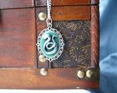 Harry Potter Slytherin Cameo Necklace