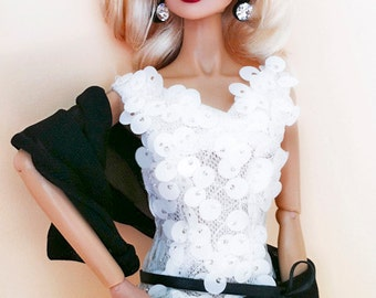 Black and White Fashion for Fashion Royalty and Silkstone Barbie