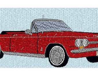 Custom Embroidered 64 1964 Corvair Denim Shirt S-4XL