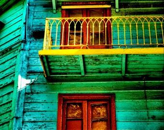 Buenos Aires LA BOCA district doors and windows - Fine Art Travel Photography Print - 8x12