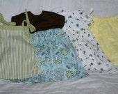 4 piece dress set that fits an American Girl doll