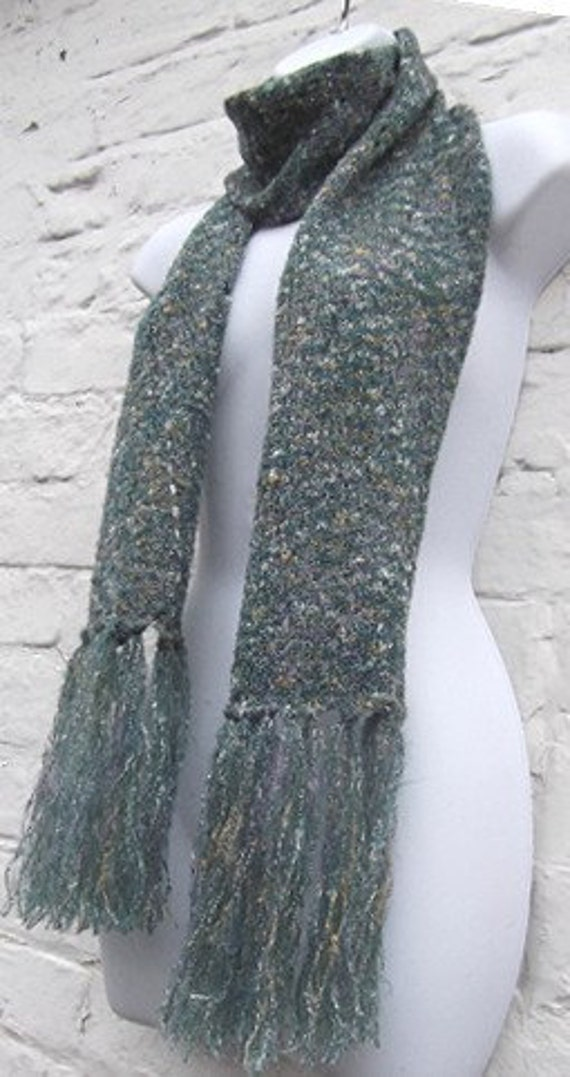 Knitting Machine Scarf Pattern : Lacy Mohair Scarf Pattern Easy Machine Knitting PDF Downloadable from beaknit...