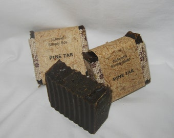 Hand Crafted Natural Pine Tar Soap