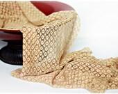 Newborn Wrap, Newborn Photo Prop, Sheer Lace Wrap in Natural Tan, Beige, Champagne Stretch Lace - SALE
