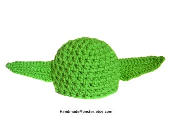 YODA BABY COSTUME hat / star wars yoda inspired
