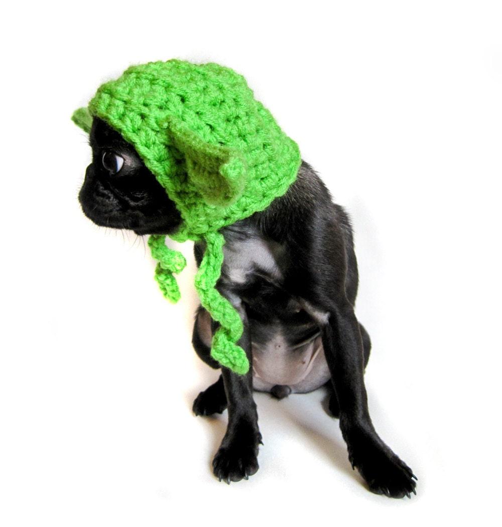 CROCHET DOG HAT pattern yoda star wars inspired pdf dog
