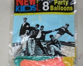 RESERVED New Kids on the Block: Party Balloons