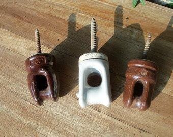 Insulators Vintage Small for Upcycling