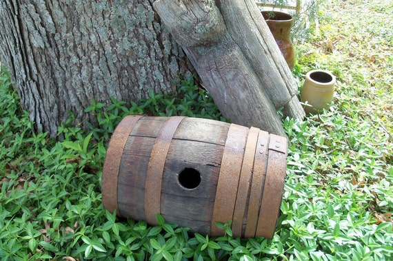 Early Century Coopers Barrel Distressed Useful Find